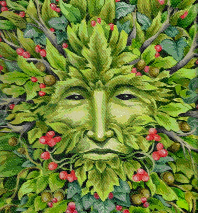 Image result for picture of green man